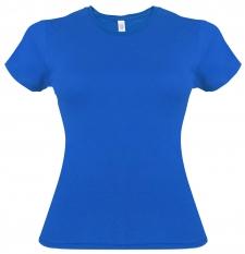 Camiseta Gildan azul rey de mujer - UNIDAD
