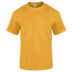 Camiseta Gildan amarillo oro - UNIDAD