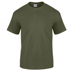 Camiseta Gildan verde militar - UNIDAD