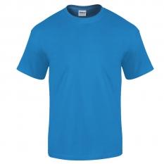 Camiseta Gildan azul safiro - UNIDAD