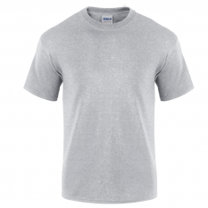 Camiseta Gildan gris jaspeado - UNIDAD