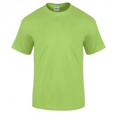 Camiseta Gildan verde limón - UNIDAD
