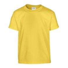 Camiseta Gildan junior amarillo margarita - UNIDAD