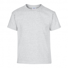 Camiseta Gildan junior gris jaspeado - UNIDAD