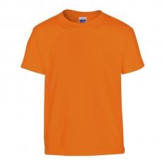 Camiseta Gildan junior naranja - UNIDAD