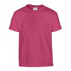 Camiseta Gildan junior fucsia - UNIDAD