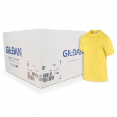 Camiseta Gildan Amarillo Daisy CAJA POR 72 UNIDADES