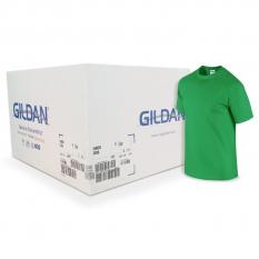 Camiseta Gildan verde irlandes CAJA POR 72 UNIDADES