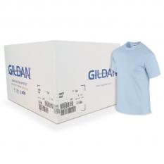Camiseta Gildan azul claro CAJA POR 72 UNIDADES