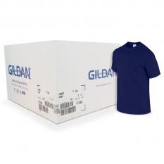 Camiseta Gildan Azul oscuro CAJA POR 72 UNIDADES
