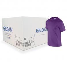 Camiseta Gildan morada CAJA POR 72 UNIDADES