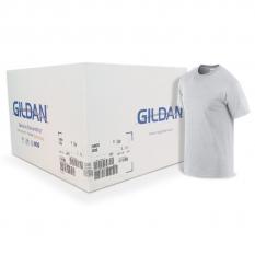 Camiseta Gildan gris jaspeado CAJA POR 72 UNIDADES