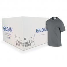 Camiseta Gildan Gris oscuro CAJA POR 72 UNIDADES