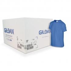 Camiseta Gildan azul rey CAJA POR 72 UNIDADES