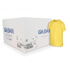 Camiseta Gildan amarillo margarita CAJA POR 72 UNIDADES