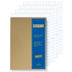DuraDark Cuadricula Azul Doblecarta