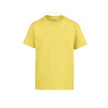 Camiseta Gildan Junior Toddler Amarillo Deisy - UNIDAD
