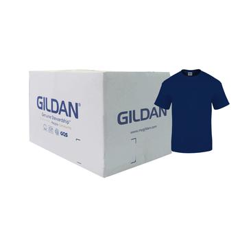Camiseta Gildan Junior Toddler Azul Nave CAJA POR 36 UNIDADES