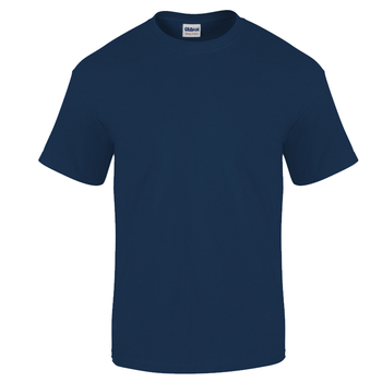 Camiseta Gildan Junior Azul Nave - UNIDAD